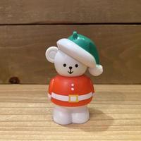 Chunky Christmas People Santa Bear Ornament Toy/チャンキー クリスマスピープル サンタベア オーナメントトイ/201119-5