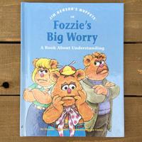 THE MUPPETS Fozzie's Big Worry/ ザ・マペッツ フォジーズ ビッグ ウォーリー 絵本/170524-5