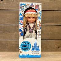 it's a small world Holland Girl Doll/イッツアスモールワールド オランダの女の子 ドール/200811-2