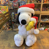 PEANUTS Snoopy & Woodstock Holiday Plush Doll/ピーナッツ スヌーピー & ウッドストック ホリデーぬいぐるみ/201011-5