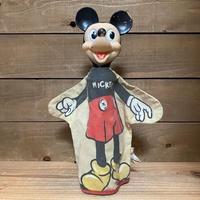 Disney Mickey Mouse Hand Puppet/ディズニー ミッキー・マウス ハンドパペット/210807-8