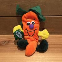 Veggie Seedies Beta Carrot Bean Bag/ベジーシーディーズ にんじん ぬいぐるみ/190905-5
