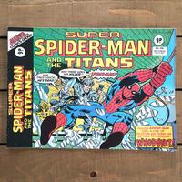 SPIDER-MAN Super Spider-man and the Titans Comics 1977.Feb.209/スパイダーマン コミック 1977年2月209号/190425-7