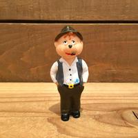Alvin and the Chipmunks Uncle Harry PVC FIgure Set/アルビンとチップマンクス ハリーおじさん PVCフィギュア セット/190303-13