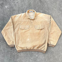 LL SPORT Pullover  Corduroy Shirts/LLスポーツ プルオーバーコーデュロイシャツ/191215-1