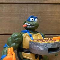 TURTLES Pizza Tossin' Leo Figure/タートルズ ピザトッシン・レオナルド フィギュア/211024-5
