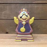 Beauty and the Beast Cogsworth Hand Puppet/美女と野獣 コグスワース ハンドパペット/210121−8