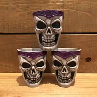 Skull Plastic Cup/骸骨 プラスチックカップ/181019-1