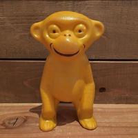 Monkey Squeaky Rubber Doll/お猿 スクアーキー ラバードール/190117-8