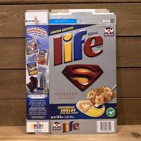 SUPERMAN life Cereal Box/スーパーマン ライフ シリアルボックス/210901−1
