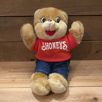 SHONEY'S Shoney Bear Plush Doll/ショーニーズ ショーニーベア ぬいぐるみ/210508-4