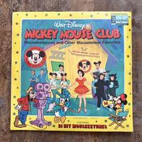 Disney Mickey Mouse Club LP Record/ディズニー ミッキーマウスクラブ LPレコード/210529−2