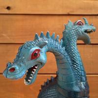 Blue Two Head Dragon Figure/青い双頭のドラゴン フィギュア/190121-8