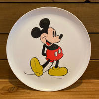 Disney Mickey Mouse Plastic Plate/ディズニー ミッキー・マウス プラスチックプレート/191024-5