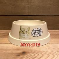 9-Lives Morris the Cat Cat Food Bowl/9ライブズ モリス キャットフードボウル/191126-8