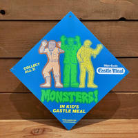 Monsters Kid's Meal Store Display Sign/モンスター キッズミール ストアディスプレイサイン/190824-11