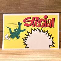 Sinclair Store Pop Card/シンクレア ストアポップカード/210323-1