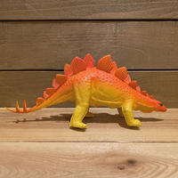 DINOSAUR Stegosaurus Rubber Toy/恐竜 ステゴサウルス ラバートイ/191121-8