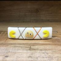 PACMAN Bootleg Pacman Hair Clip/パックマン ブートレグ・パックマン 髪留め/181122-2
