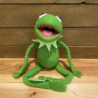 THE MUPPETS Kermit the Frog Plush Doll/マペッツ カーミット ぬいぐるみ/191023-1