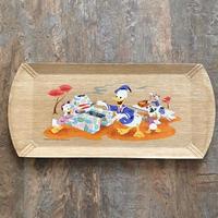 Disney Wood Tray/ディズニー ウッドトレイ/210822-4