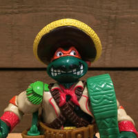 TURTLES Bandito-bashin' Mike Figure/タートルズ バンディットバッシン・ミケランジェロ フィギュア/181031-10