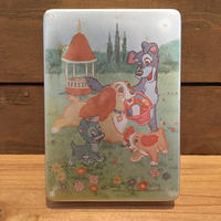 Lady and the Trump Lunch Box/わんわん物語 アルミ 弁当箱/180909-3