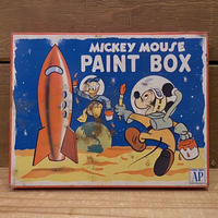 Disney Mickey Mouse Paint Box Tin/ディズニー ミッキー・マウス ペイントボックスの缶/210215−13