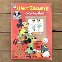 Disney Walt Disney's Coloring Book/ディズニー ウォルトディズニーズ カラーリングブック/191119-6