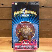POWER RANGERS Drill Master Figure/パワーレンジャー ドリルマスター フィギュア/191107-1
