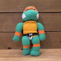 TURTLES Michaelangelo Plush Doll/タートルズ ミケランジェロ ぬいぐるみ/210413−16