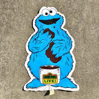 SESAME STREET Cookie Monster Pennant/セサミストリート クッキーモンスター ペナント/200323-1