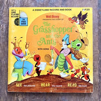 Disney Grasshopper and the Ants Book and Record/ディズニー アリとキリギリス ブック&レコード/210619−5