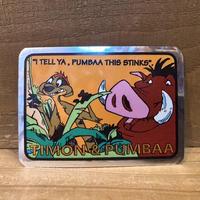 THE LION KING Hologram Card/ライオンキング ホログラムカード/210422−10