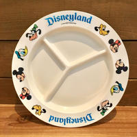 Disney Disneyland Plastic Plate/ディズニー ディズニーランド プラスチックプレート/191003-4