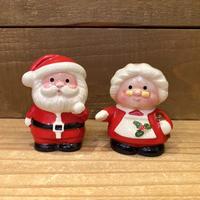 Santa  Claus & Mrs Claus S&P/サンタクロース&ミセスミセスクロース ソルト&ペッパー/201119-11