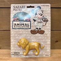 ANIMAL KINGDOM Safari Play Set Lion Figure/アニマルキングダム サファリプレイセット ライオン フィギュア/210126−18
