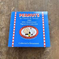 PEANUTS 40th Anniversary Collector's Ornament/ピーナッツ 40周年記念 コレクターズオーナメント/210618−13