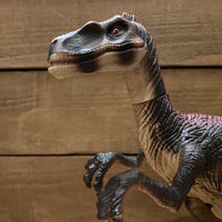 JURASSIC PARK Ⅲ Stalking Raptor Figure/ジュラシックパーク トーキング・ラプトル フィギュア/210101-2