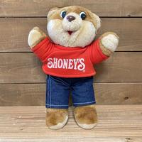 SHONEY'S Shoney Bear Plush Doll/ショーニーズ ショーニーベア ぬいぐるみ/200719-1