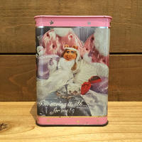 THE MUPPETS Miss Piggy Tin Coinbank/マペッツ ミス・ピギー 缶貯金箱/190517-2
