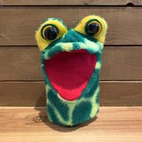 Frog Hand Puppet/カエル ハンドパペット/200110-4