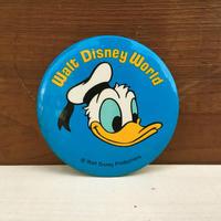 Disney Donald Duck Button/ディズニー ドナルド・ダック 缶バッジ/171215-4