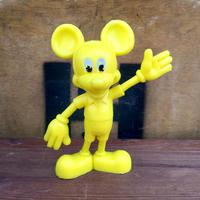 Disney Mickey Mouse Plastic Figure/ディズニー ミッキー・マウス プラスチックフィギュア/191005-1