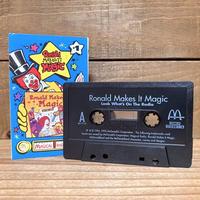 McDonald's Ronald Make It Magic Cassette Tape/マクドナルド ロナルド・メイクイット・マジック カセットテープ/210804−11