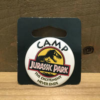 JURASSIC PARK Button/ジュラシックパーク 缶バッジ/190417-3