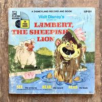 Disney Lambert the Sheepish Lion Book and Record/ディズニー 羊飼いのランバート ブック&レコード/210619−4
