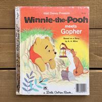 Disney Winnie the Pooh Meets Gopher/ディズニー プーさん 絵本/170324-3