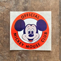 Disney Mickey Mouse Club Sticker/ディズニー ミッキーマウスクラブ ステッカー/210529−4