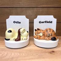 GARFIELD Garfield & Odie Bookend/ガーフィールド ガーフィールド&オーディ ブックエンド/210921−10